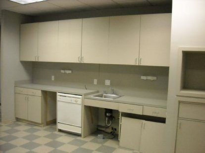 Kitchen space was in bad need of a face lift!
