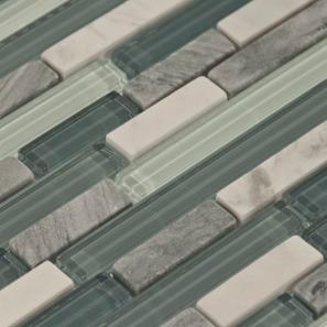 Backsplash Tile - glass and stone mosaic