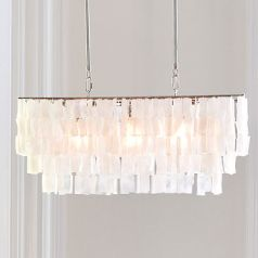 Gorgeous new chandalier