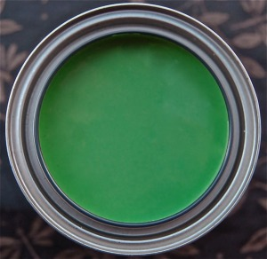 china green chalk paint